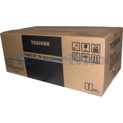 TOSHIBA 80 85 TONER KIT